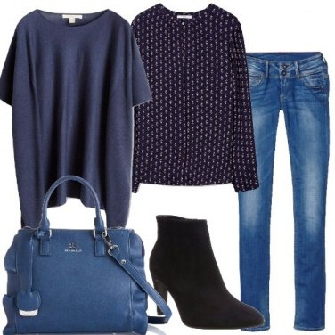 Outfit Passione blu