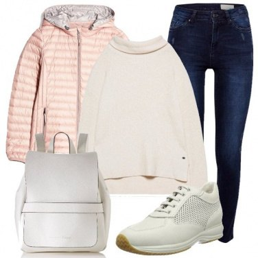 Outfit Il bianco prevale
