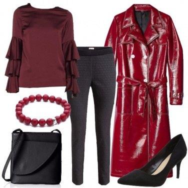 Outfit Lucido e opaco
