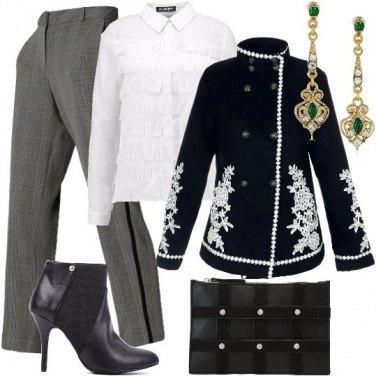 Outfit Ricami preziosi