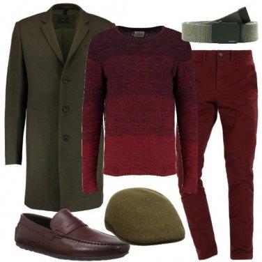 Outfit Il cappotto classico verde