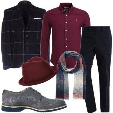 Outfit Eleganza con cappello