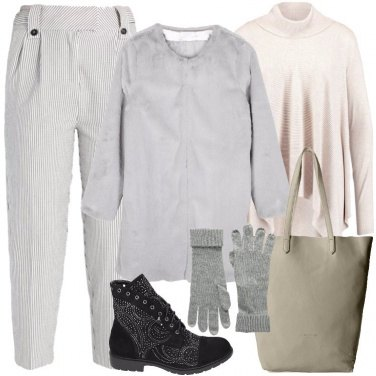 Outfit Stivaletti neri