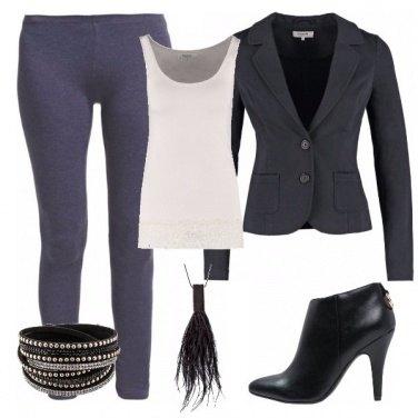 Outfit Aperitivo con i leggings