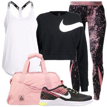 Outfit Sportiva e femminile