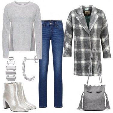 Outfit Grigi e jeans