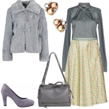 Outfit Color ghiaccio