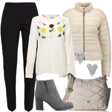 Outfit Stivaletti con il tacco