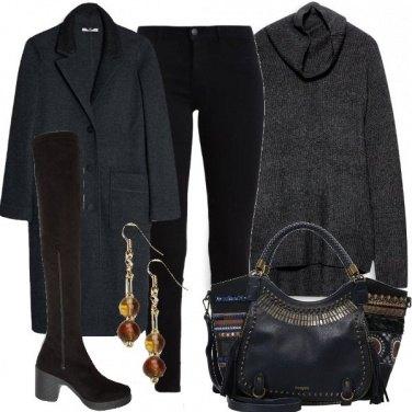 Outfit Pantaloni e stivali