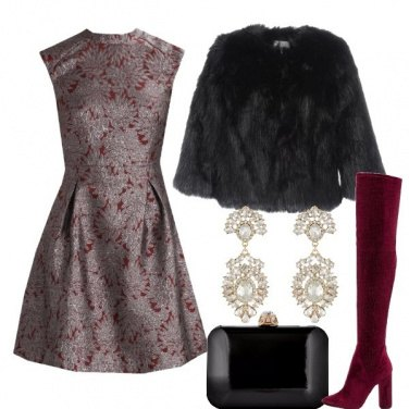 Outfit Cuissard bordeaux sbarazzini