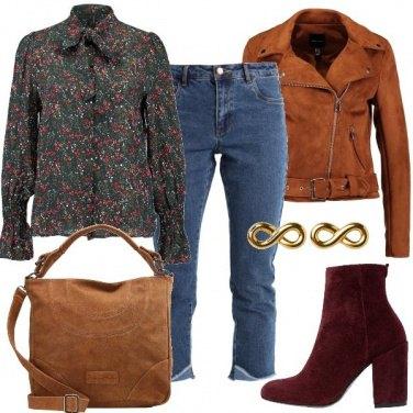 Outfit I jeans sfrangiati