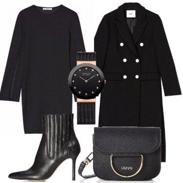 Outfit Abito nero