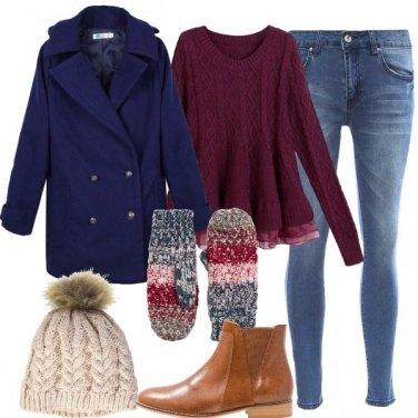 Outfit Passeggiando al freddo