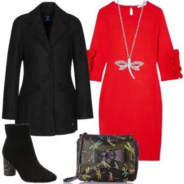 Outfit Vestito a tubino