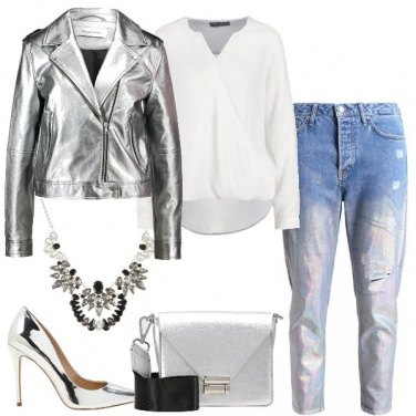 Outfit Tocchi argentati