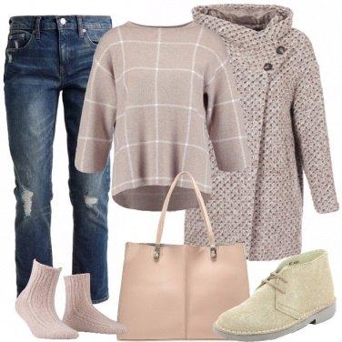 Outfit Caldi polacchini