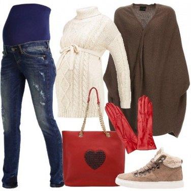 Outfit Qualcosa di rosso