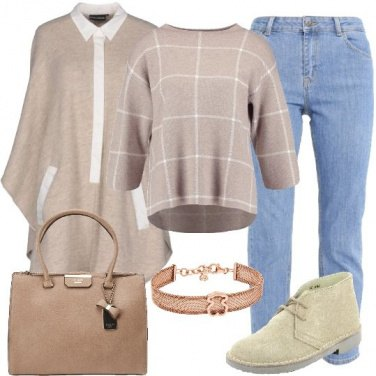 Outfit La cappa beige