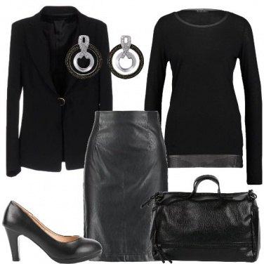 Outfit Nero per l\'ufficio
