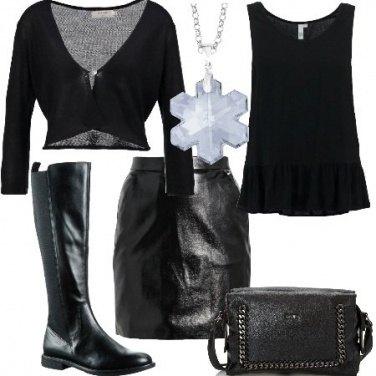 Outfit Leggermente rock