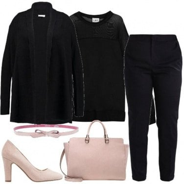 Outfit Il cardigan nero