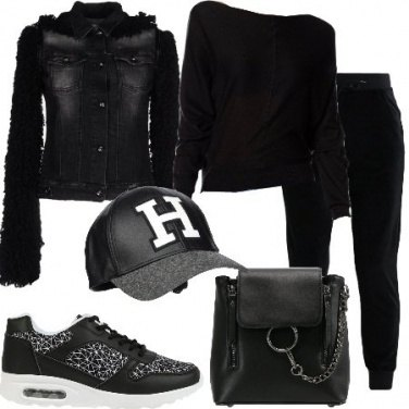 Outfit Sportiva e trendy