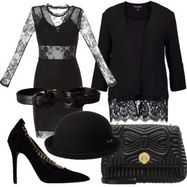Outfit Pizzo e trasparenze