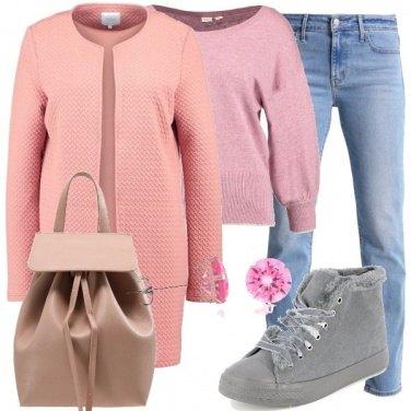 Outfit Sulle ali del rosa