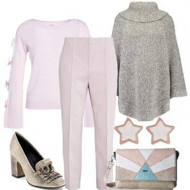 Outfit Al lavoro con i colori pastello