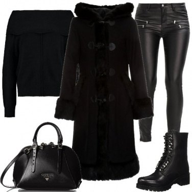 Outfit Nero totale