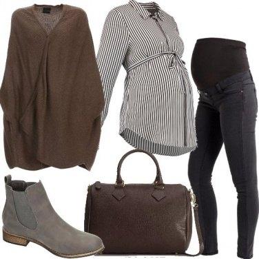 Outfit Mamma con stile