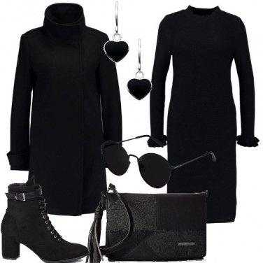 Outfit Nero di giorno si può