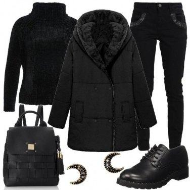Outfit Un morbido cappotto