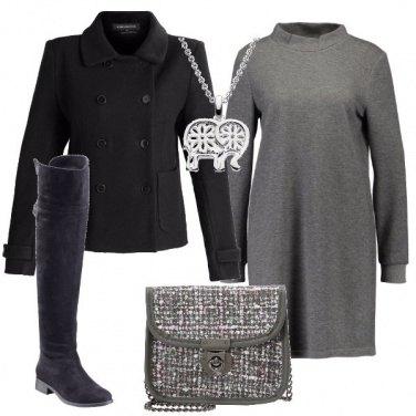 Outfit Nei toni del grigio