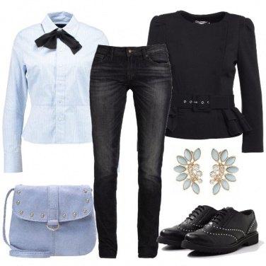 Outfit Indossare il jeans con classe