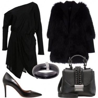 Outfit Abito con spacco