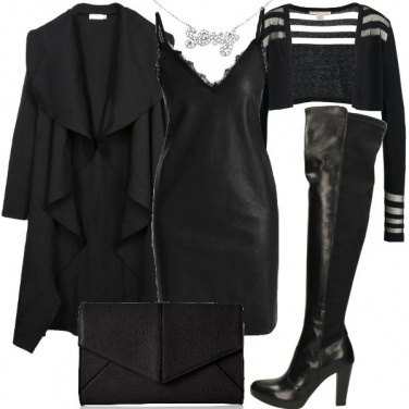 Outfit L\'abito in fintapelle