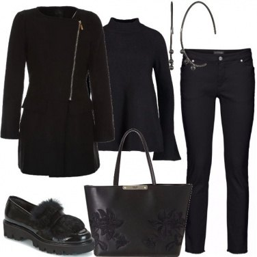 Outfit Casual in nero