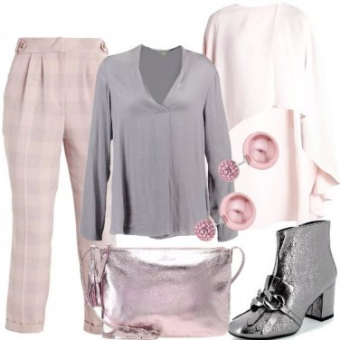 Outfit Il rosa chic