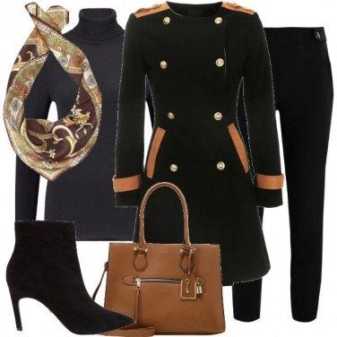 Outfit Il cappotto stile uniforme