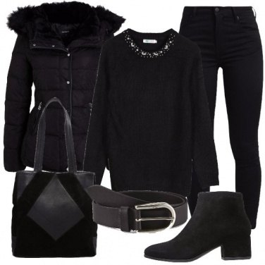 Outfit Il bello del nero