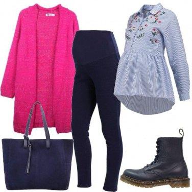 Outfit Mamma al calduccio