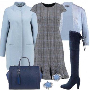 Outfit Delicato scozzese
