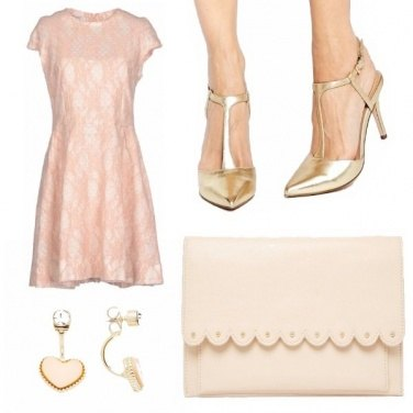 Outfit L\'eleganza in rosa low cost