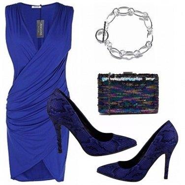 Outfit Elettrico blu, elettrica lei