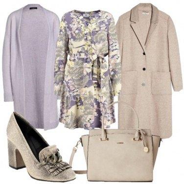 Outfit Tocchi di lilla