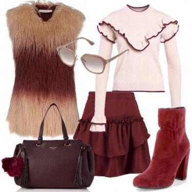 Outfit Cipria e fard