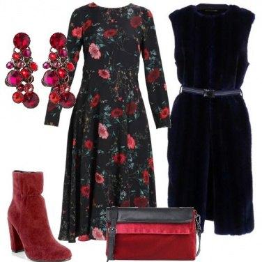 Outfit Lo smanicato blu
