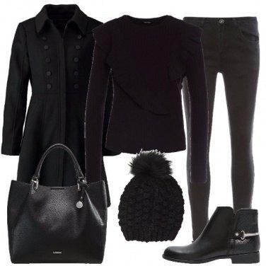 Outfit Nero nero