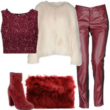 Outfit Ecopelliccia rock